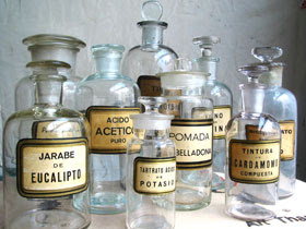 Apothecary-jars-glass