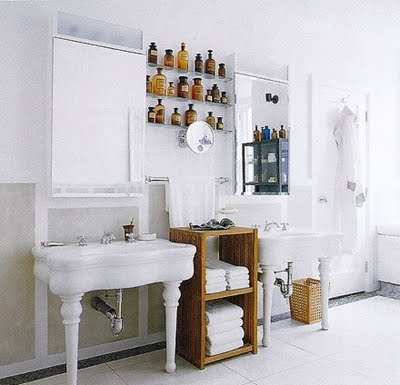 Pharm label bottles & Bathroom Apothecary u2013 Chemist Cabinets |